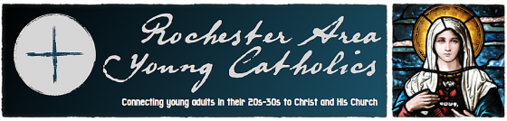 Rochester Area Young Catholics Banner